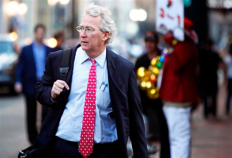 File photo of Aubrey McClendon in New Orleans