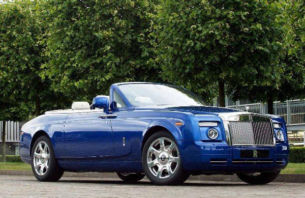 Phantom Drophead Coupe car