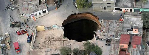 Top 10 Most Expensive Cars >> The Top 10 Most Amazing Sinkholes on Earth | TheRichest
