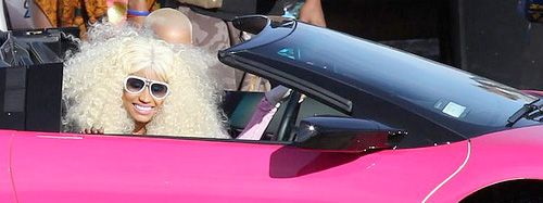 Nicki Minaj Paints her $450 000 Lamborghini Pink: Mistake?