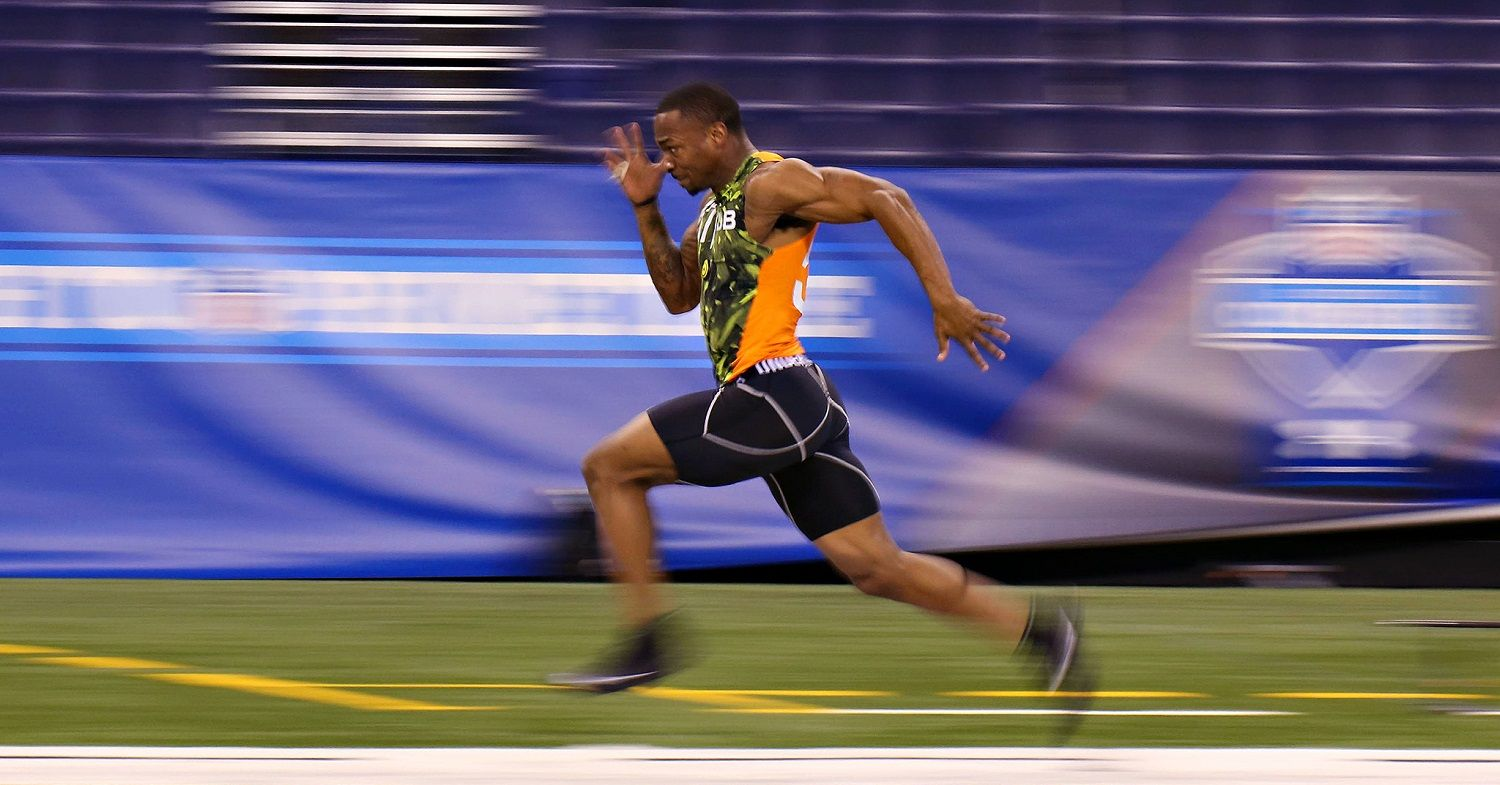 Fastest Players in the NFL: Top 10 Electronically-Timed 40-Yard Dashes