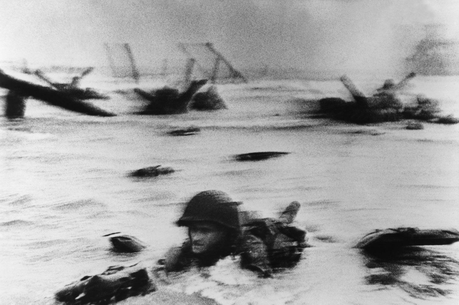 Omaha Beach, Normandy, France - Robert Capa