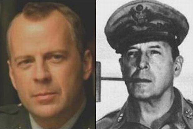 4. Bruce Willis – Douglas MacArthur