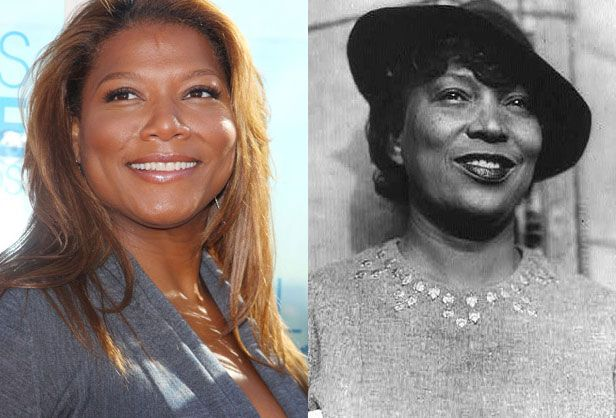 3. Queen Latifah – Zora Neale Hurston