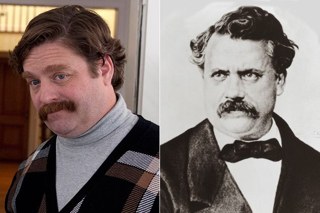 1. Zach Galifianakis – Louis Vuitton