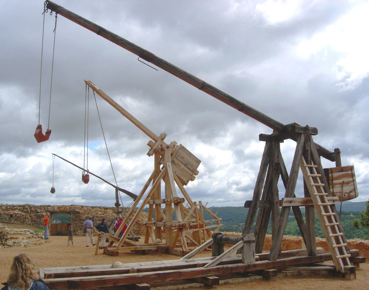 what weapon replaced the trebuchet 2