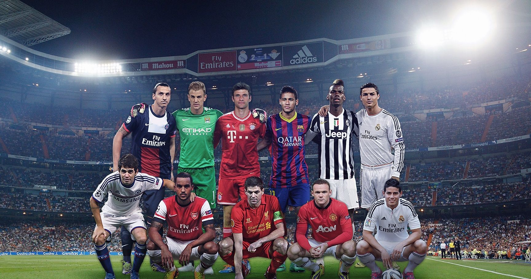 The 20 Most Valuable Soccer Teams in the World for 2015