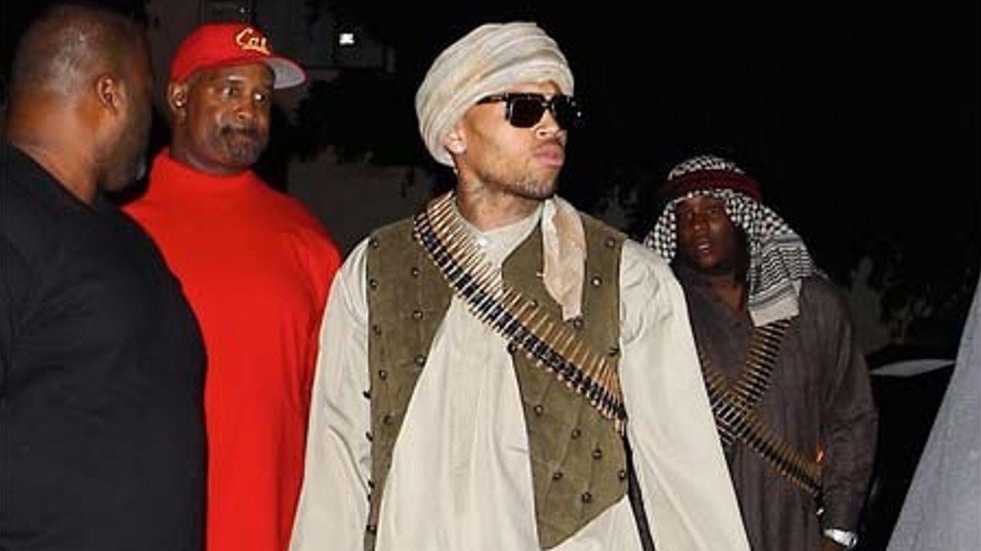 16. Chris Brown – Taliban Member