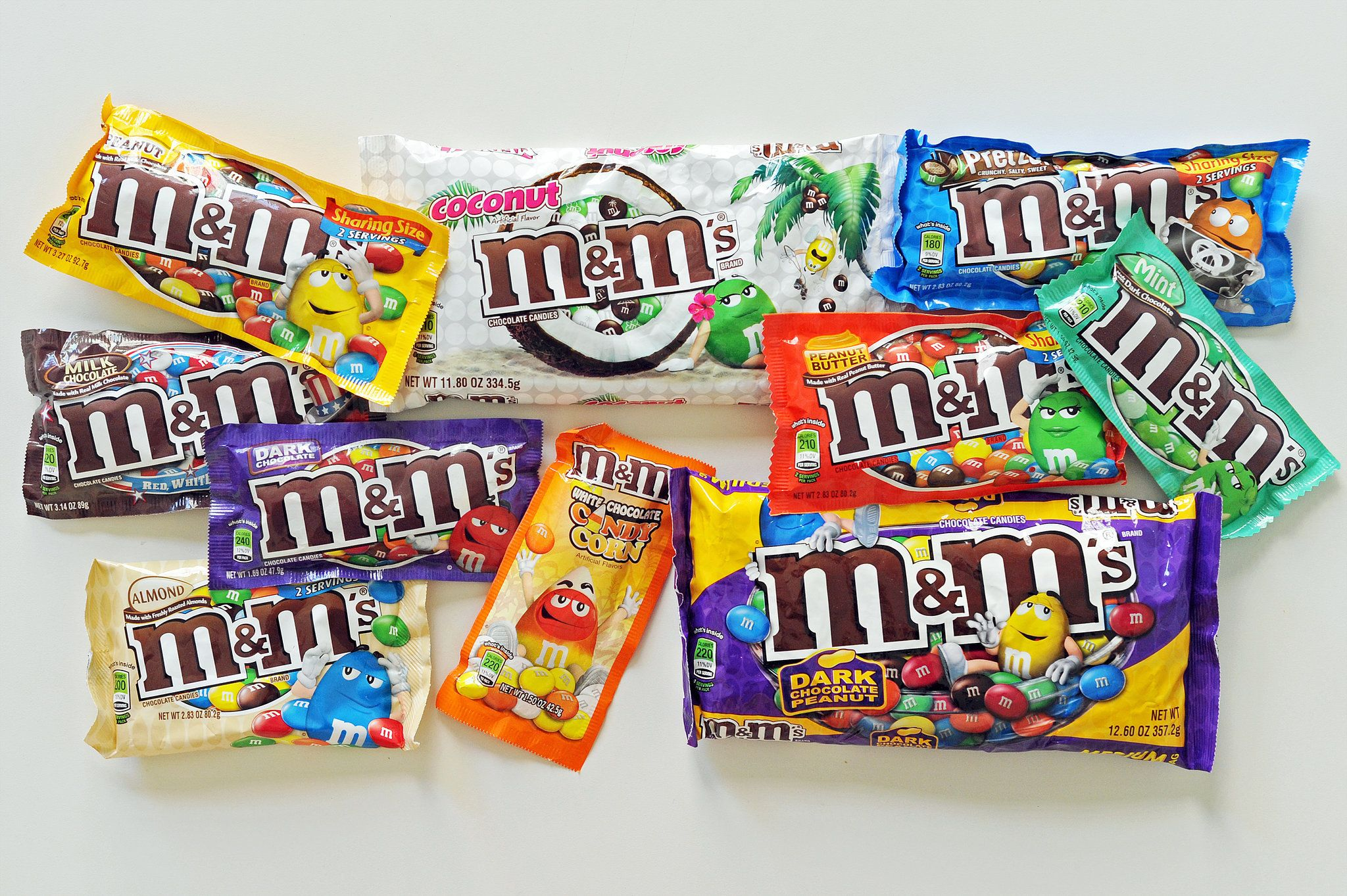 10 Surprising Facts You Didn't Know About M&M's Candy