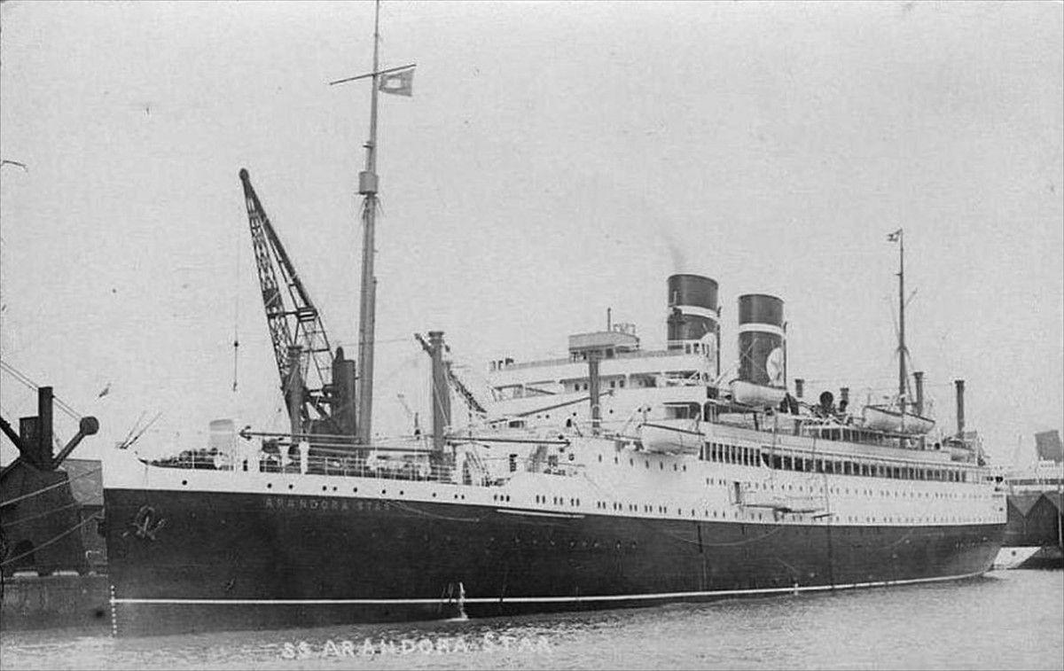 9. The Sinking of the SS Arandora Star