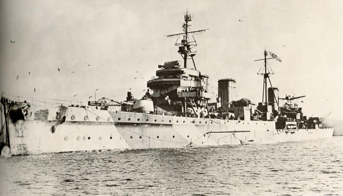 5. Bombing of the RMS Laconia