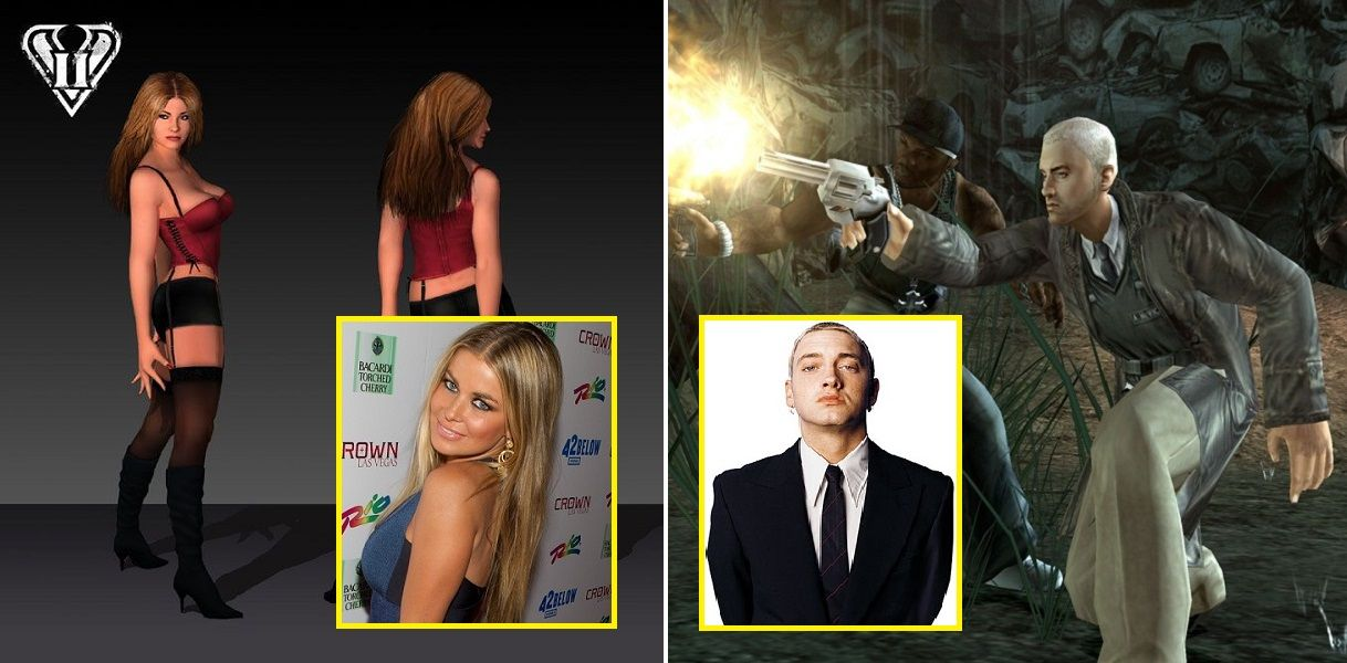 11 Celebrities You Didn't Know Appeared In Video Games