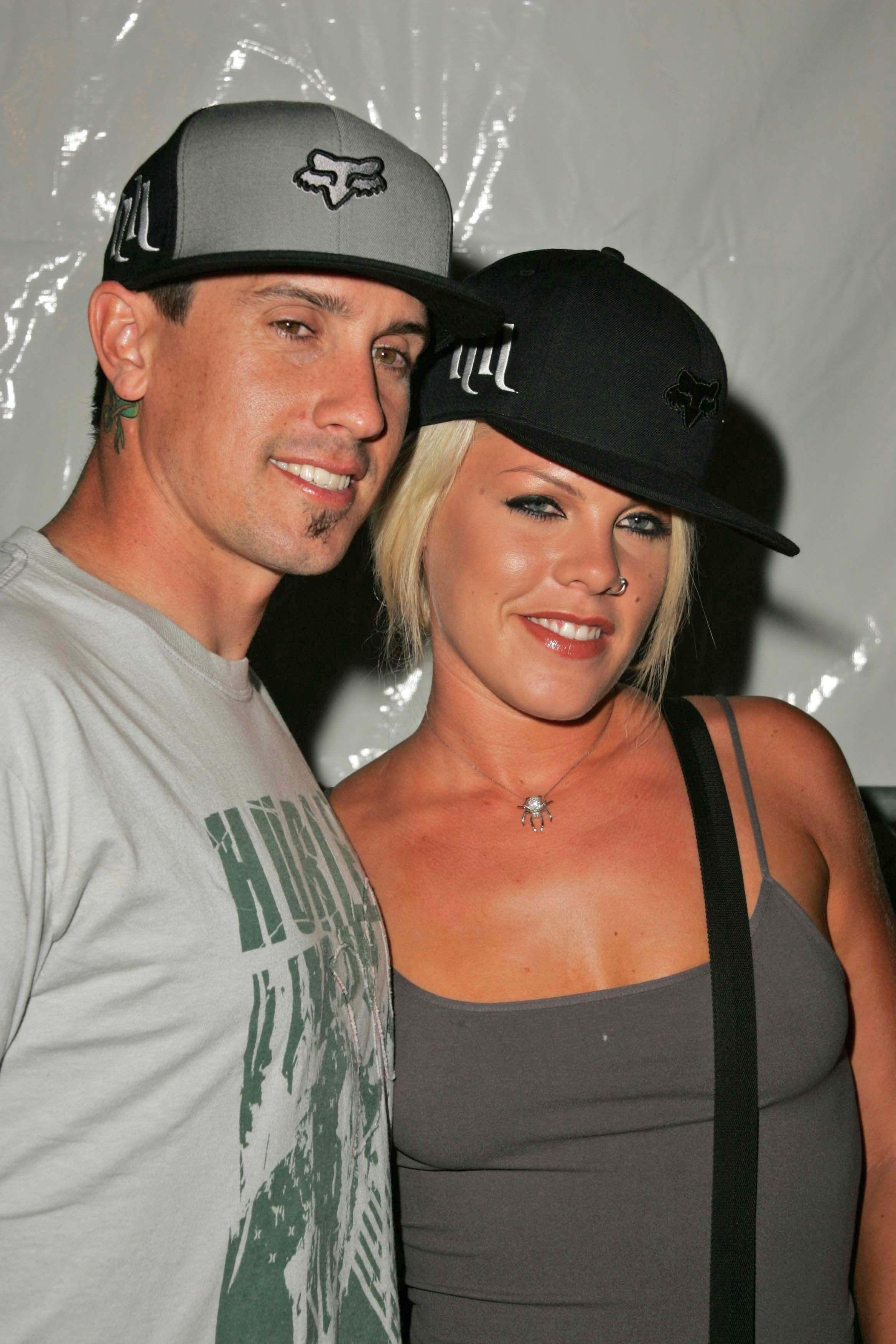 7. Pink & Carey Hart