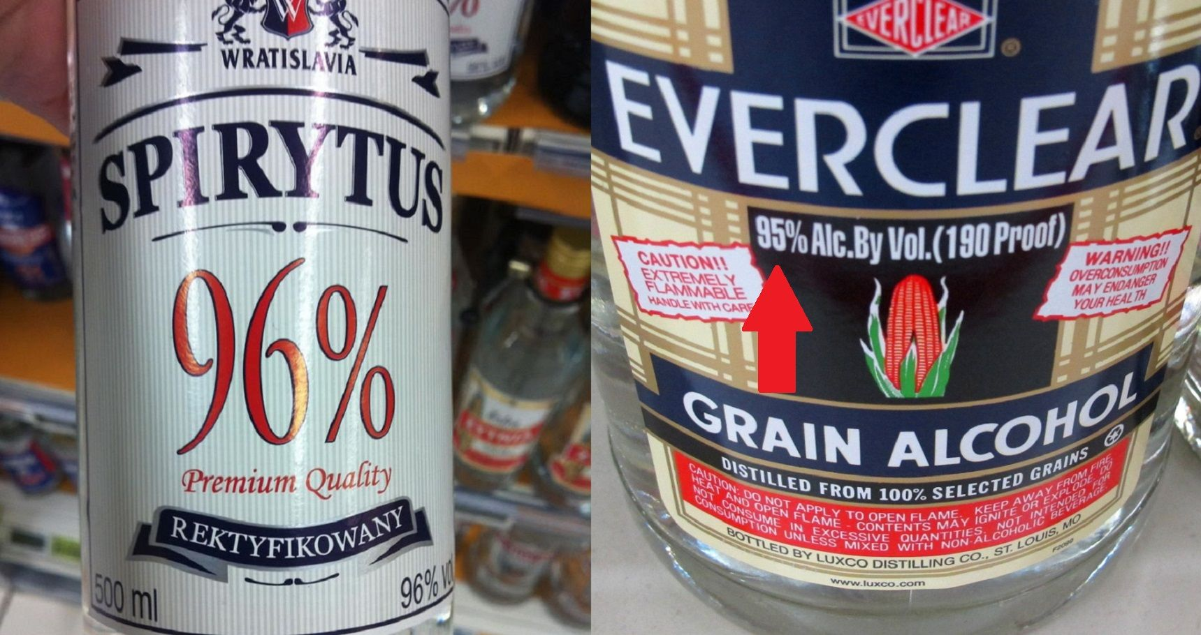 The 10 Strongest Liquors In The World