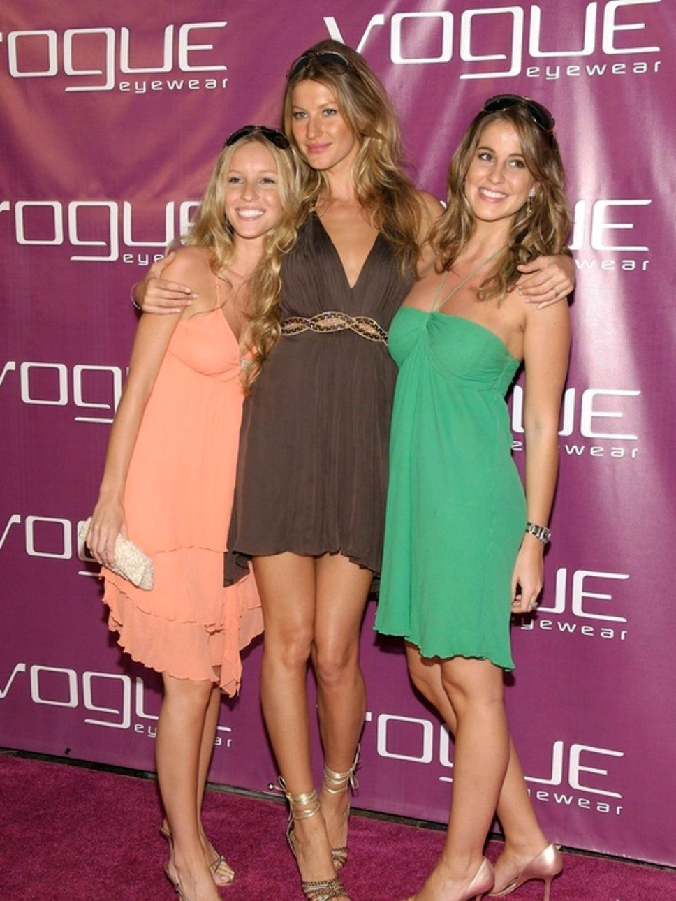 11. Gisele Bundchen and Sisters, Rafaela and Patricia