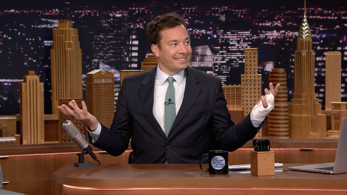 Report: NBC Execs Worried About Jimmy Fallon's Drinking