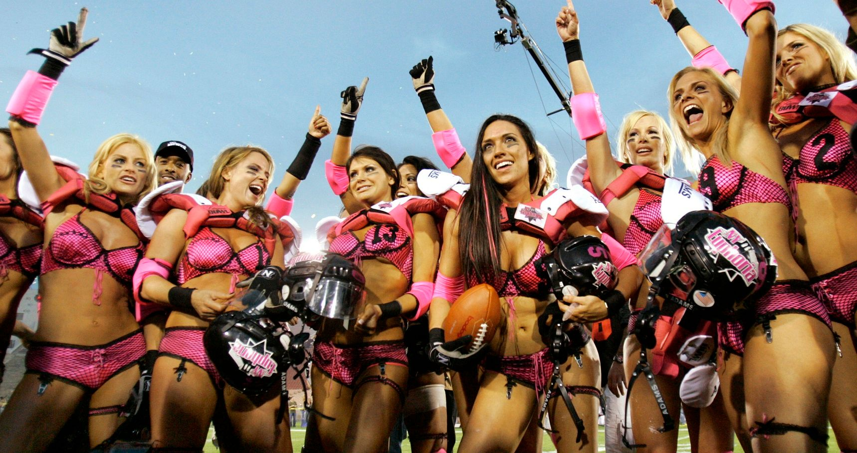 The 10 Hottest Legends Football League Players