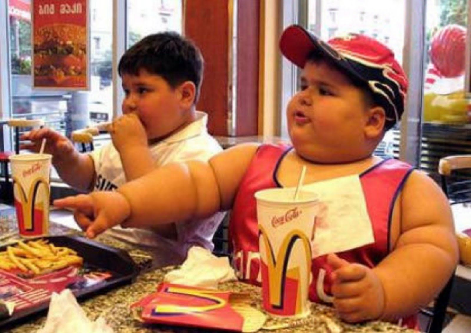 3. McDonald's Doesn't Acknowledge Its Part In Childhood Obesity