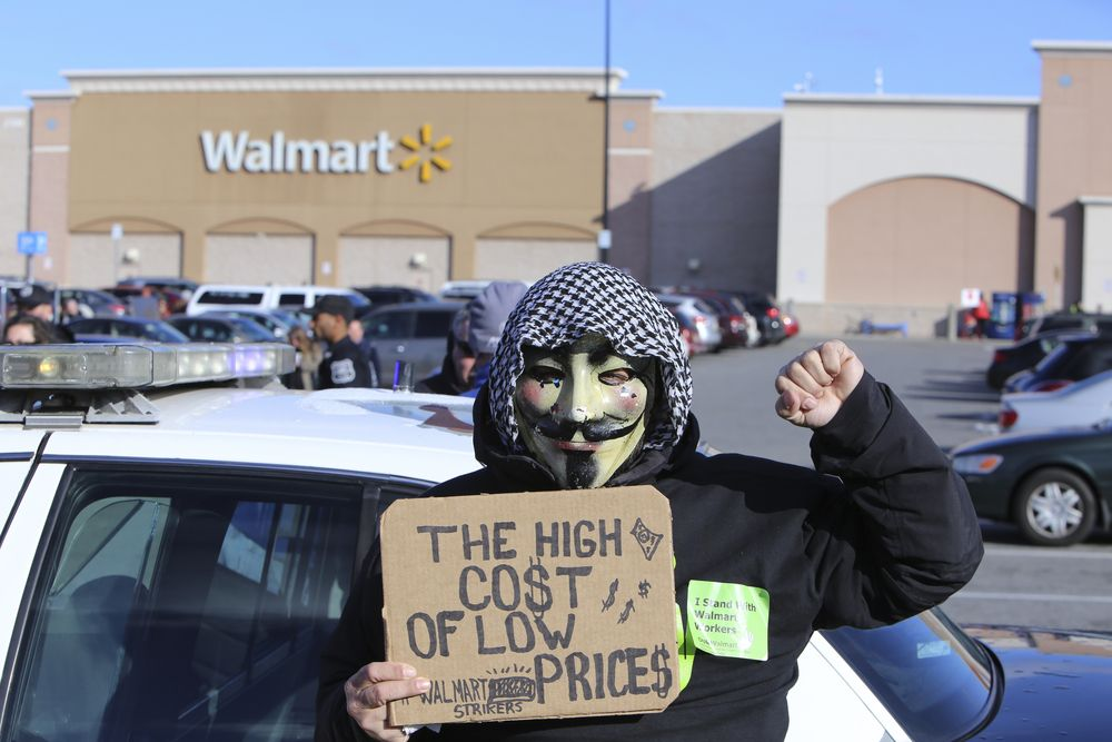 9. Walmart Illegally Fires Workers