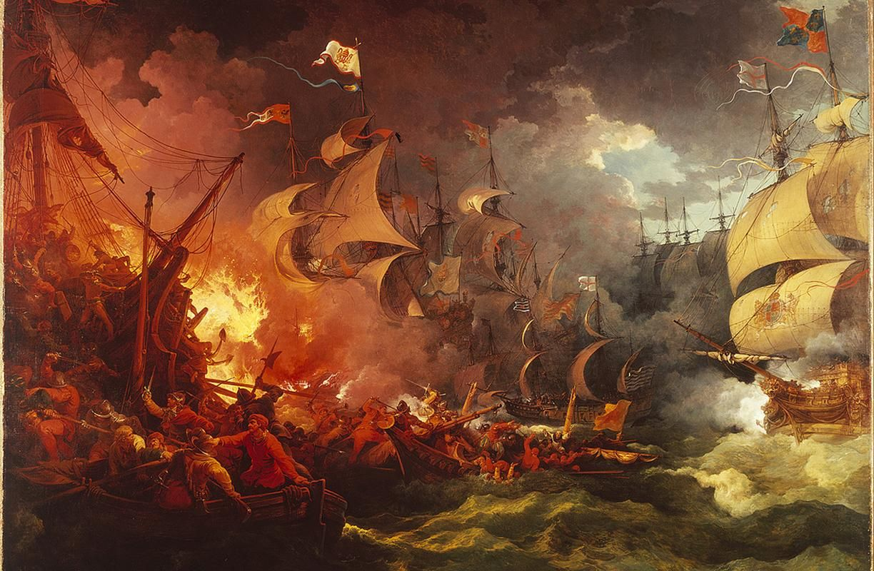 3. King Philip II entrusts the Spanish Armada to the wrong guy