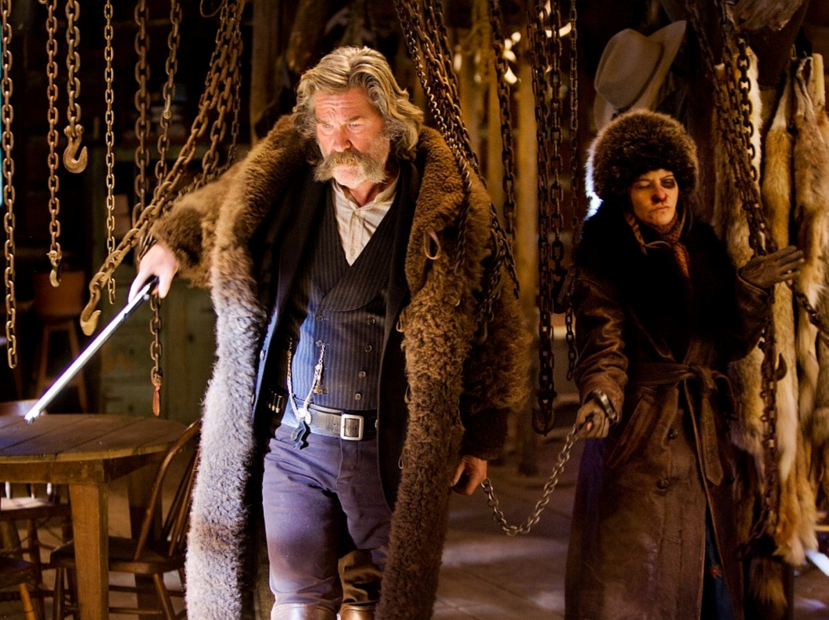 10. Daisy Domergue (The Hateful Eight)