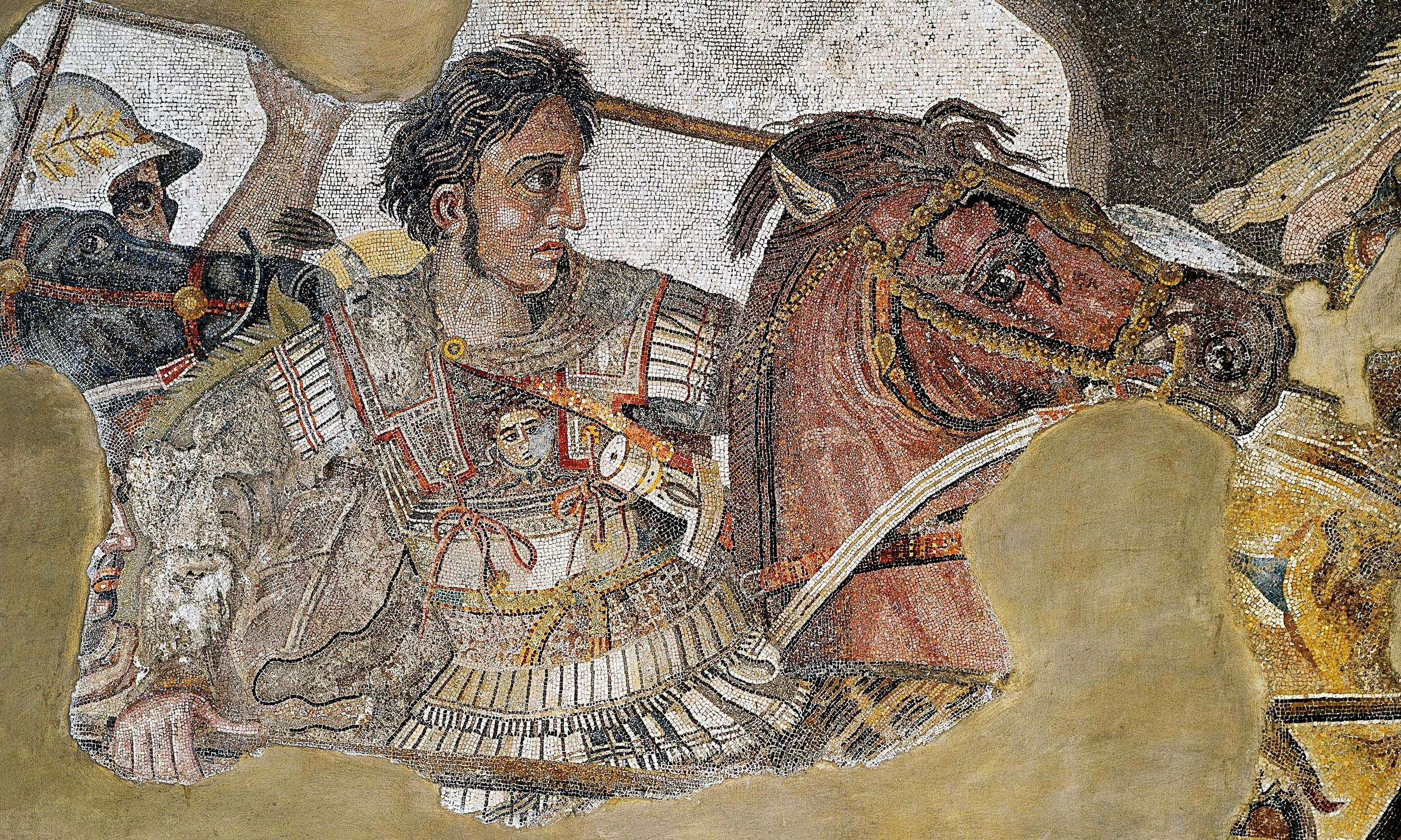 7. Alexander the Great refuses to choose an heir