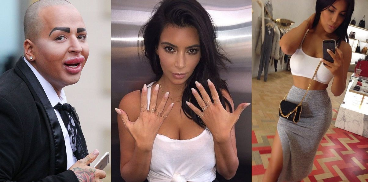 10 Women Desperate To Look Like Kim Kardashian