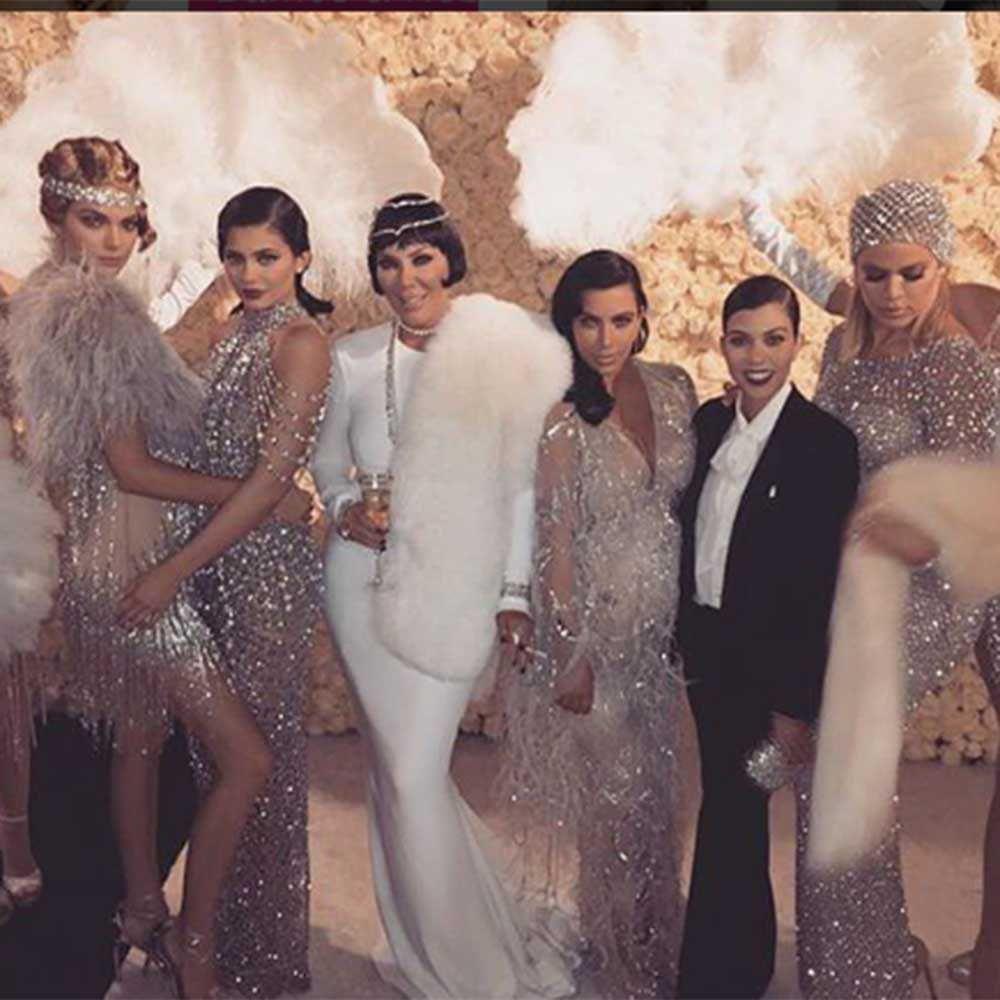 Kardashians in fur