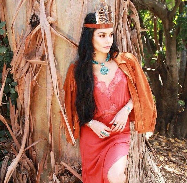 14. Vanessa Hudgens as Pocahontas