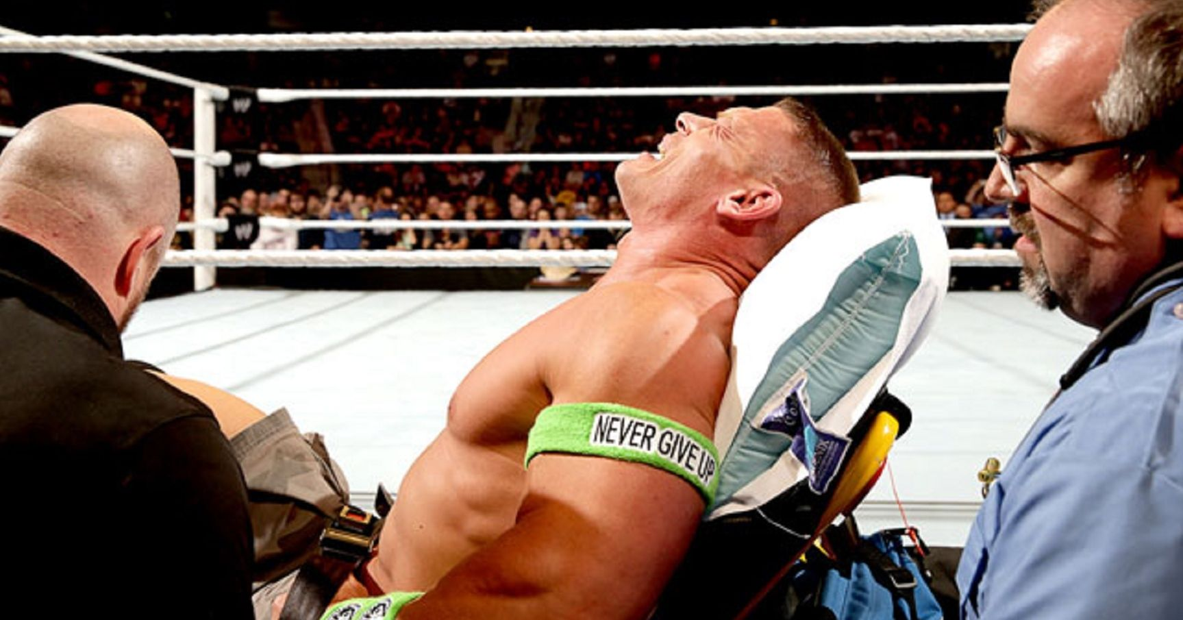 15 Wrestlers Who Faked Serious Injuries