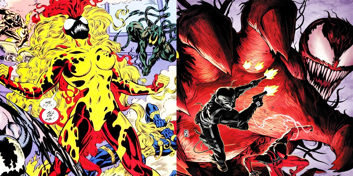 15 Most Powerful Symbiotes In The Marvel Universe | TheRichest