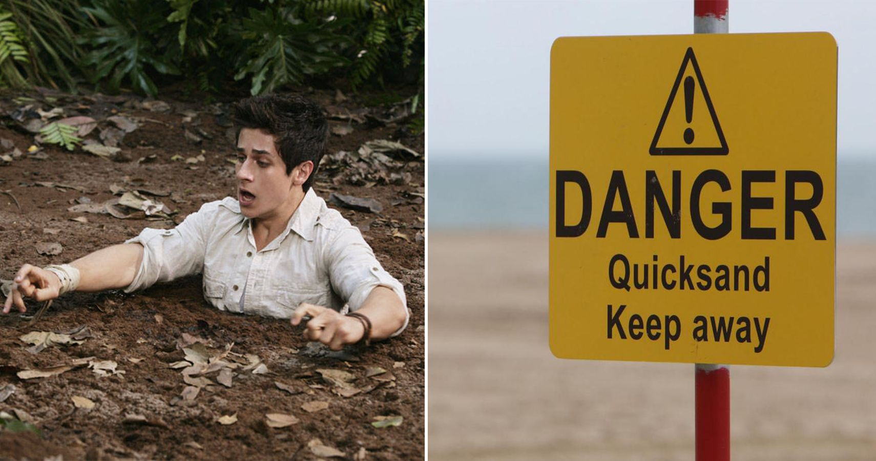 THIS is what you need to do to escape quicksand