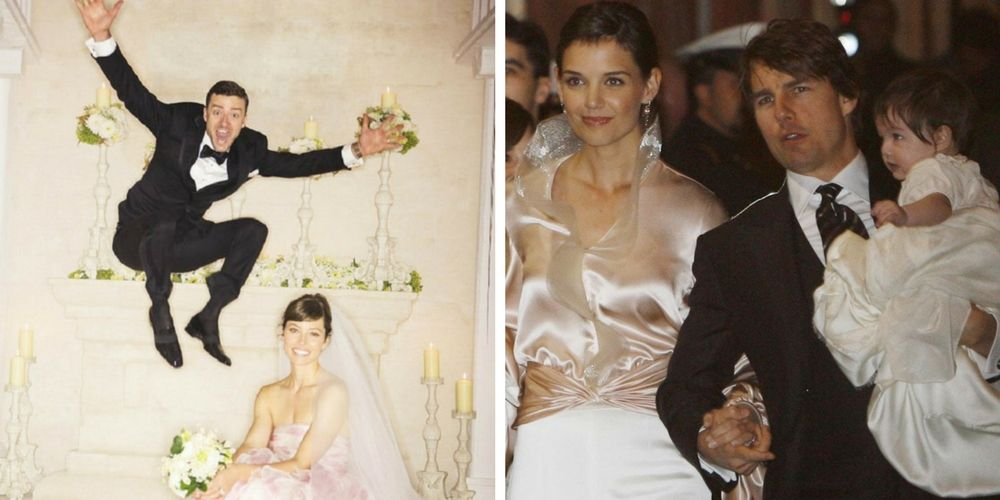 24 Wedding Photos That These Celebs Wish They Could Erase From The