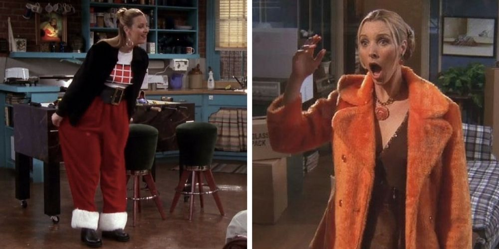 20 Fashion Faux Pas Moments Of Phoebe Buffay Therichest
