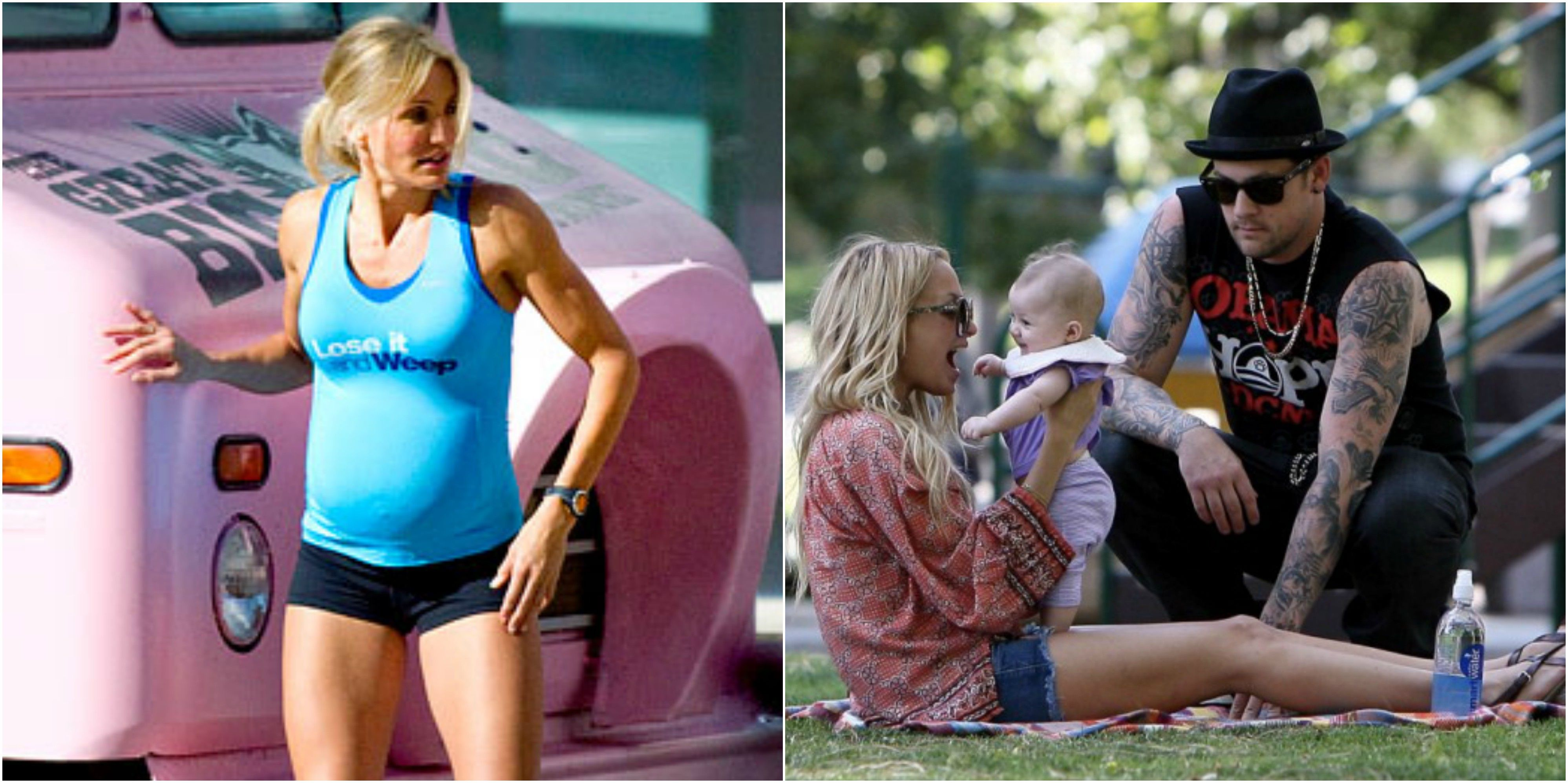 25 Reasons Why Cameron Diaz Needs Pregnancy Tips From ... Cameron Diaz Baby 2018