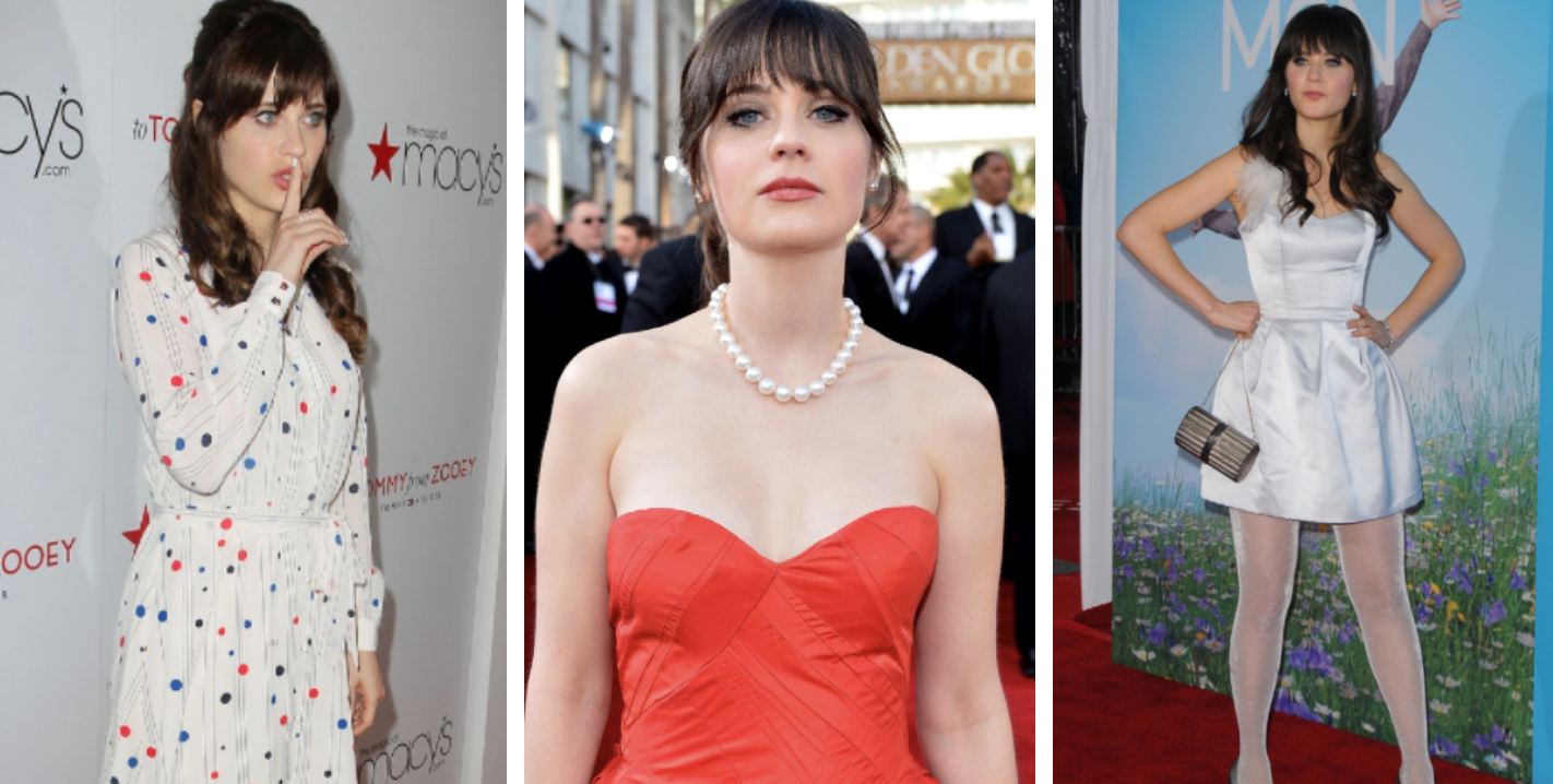 2c7dc31927d 12 Photos Of Zooey Deschanel Looking Like A Total Bombshell And 12 Outfits  That Were Flops