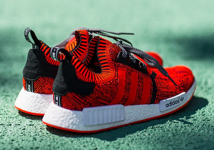 """detailed look 80c0b be052 10 Adidas NMD """"Red Apple"""""""