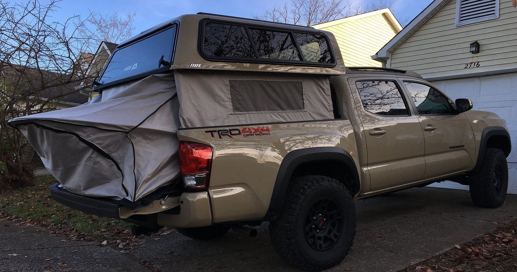 This Pickup Truck Attachment Will Change Your Camping Trip