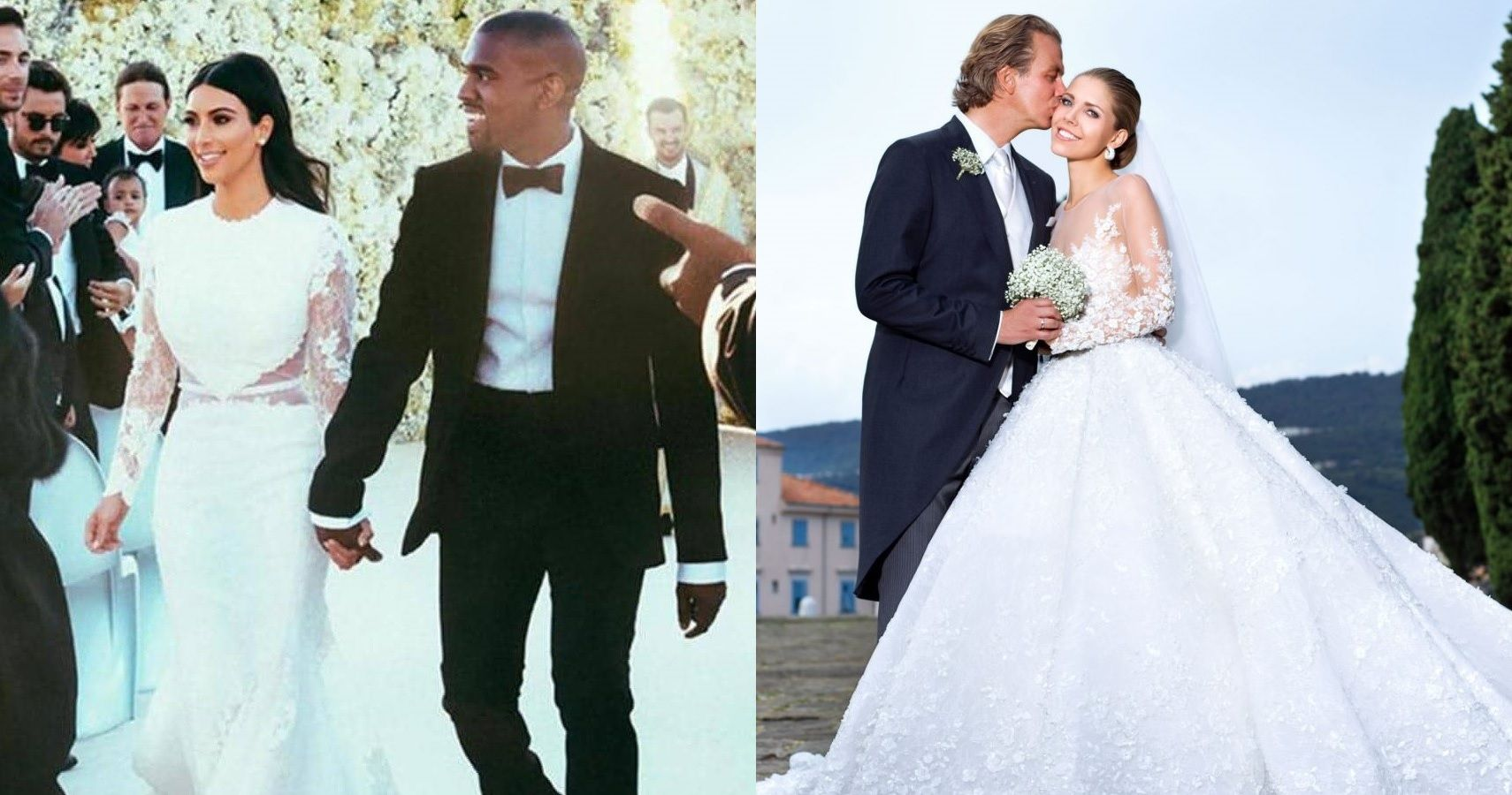 10 Most Expensive Celebrity Wedding Dresses