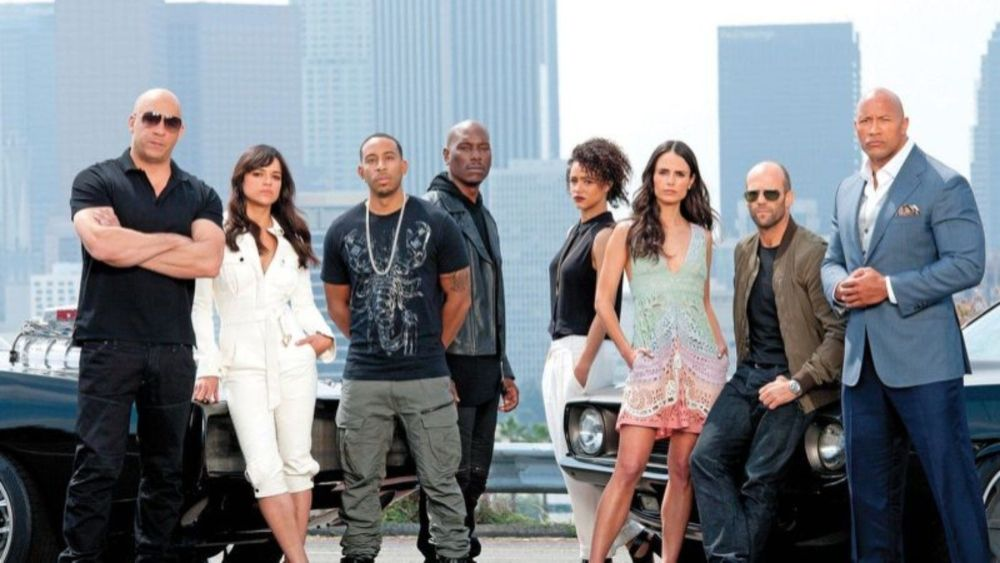 Girl Fast And Furious 7 Cast - Christoper