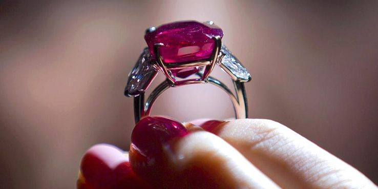 The Cartier Sunrise Ruby