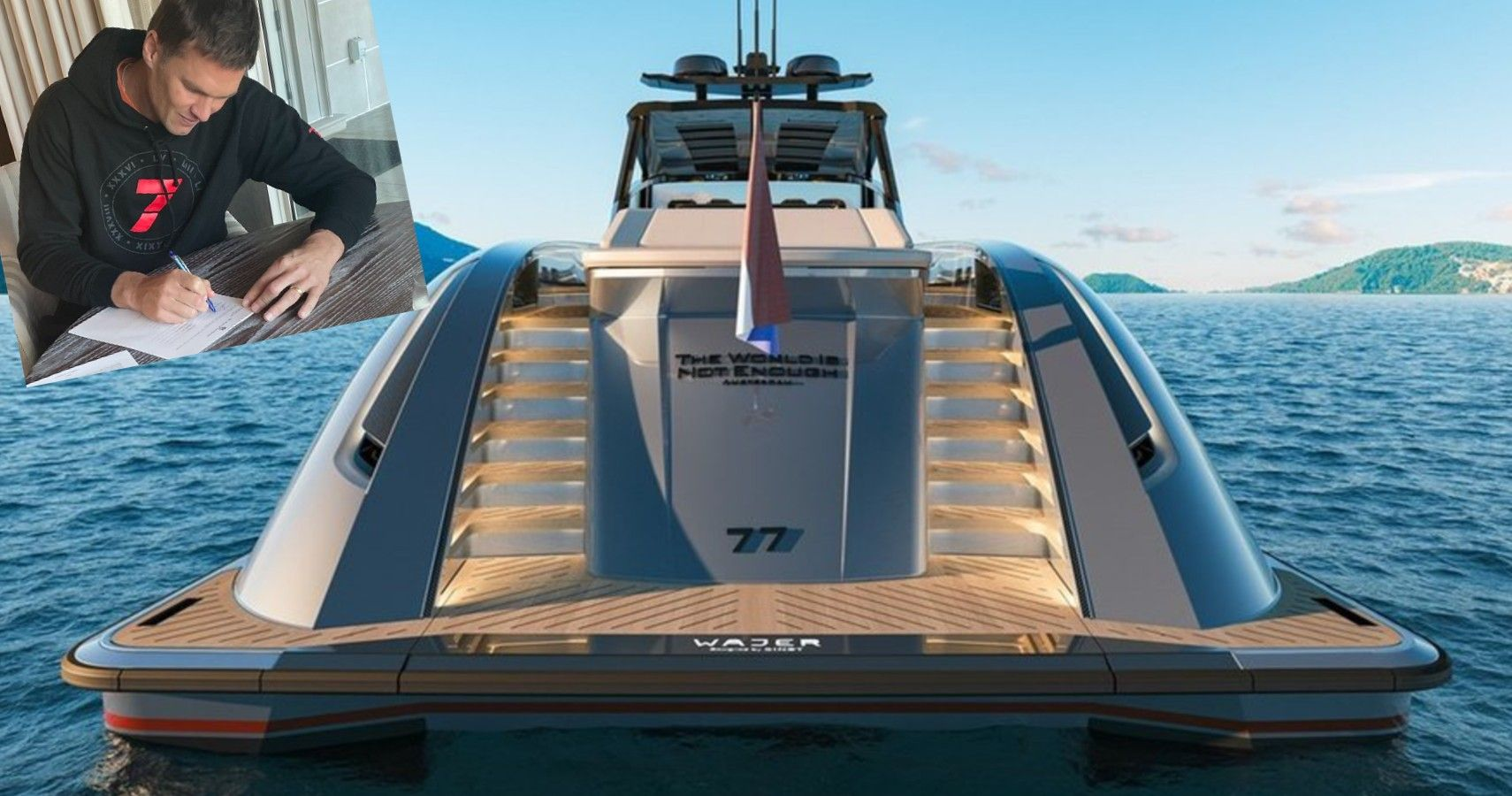 Tom Brady Upgrades To $6 Million Yacht | TheRichest.com