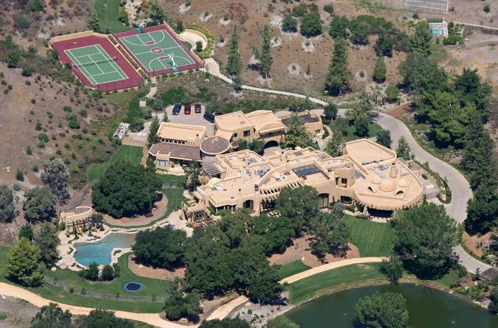 celebrity homes Celebrity Homes Top 10 Most Expensive Celebrity Homes 9280