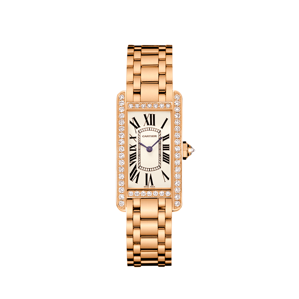 Ženski satovi Cartier-Tank-Americaine-Small-Model-Watch