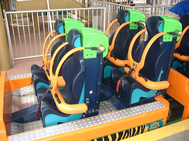 Kingda Ka seats
