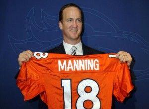 Peyton Manning, Quarterback, Denver Broncos