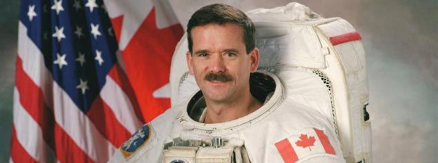 About Chris Hadfield; The Man With The Biggest Cell Phone Bill in History
