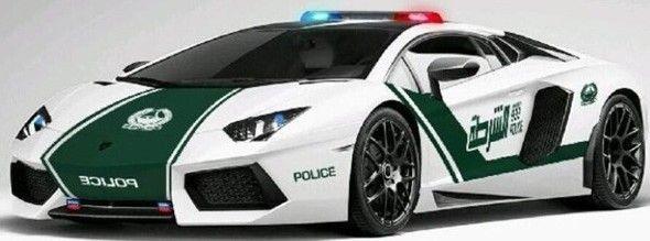 Dubai Police Gets a New Lamborghini Aventador