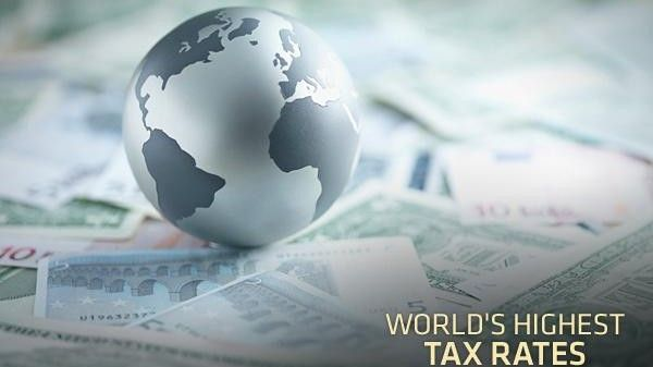 The Top Ten Countries with the Highest Tax Rates