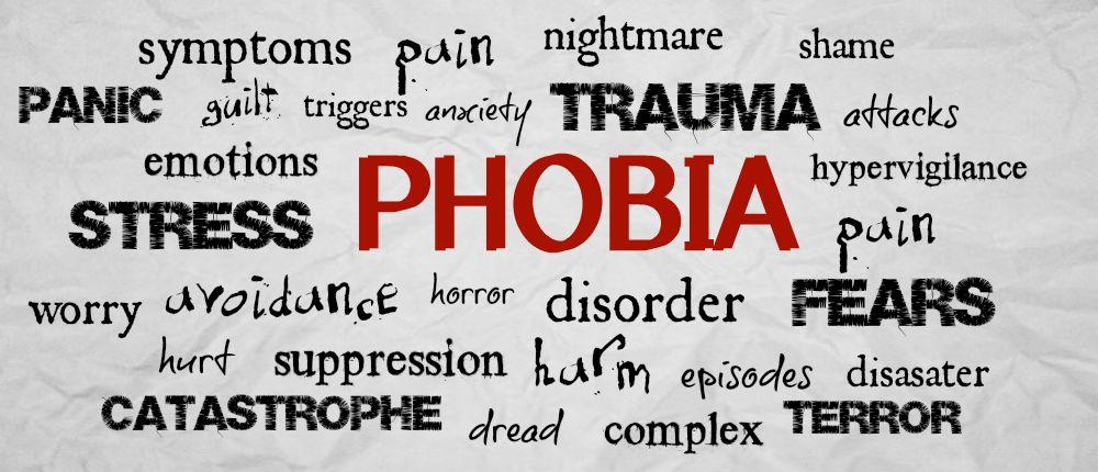 The Top Ten Most Common Phobias